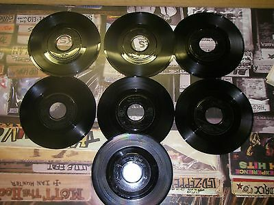 "TAKE THAT x 7 VINYL SINGLES - MILLION LOVE SONGS + 6  7"" records"