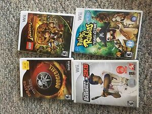 4 Like new Wii games