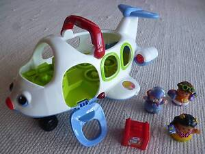 Fisher-Price Little People Lil' Movers Aeroplane Carlton Kogarah Area Preview