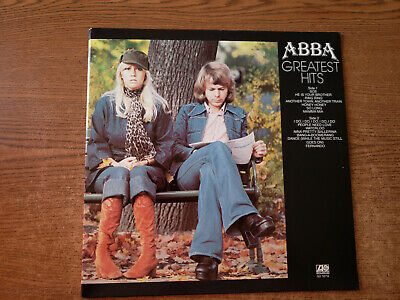 1977 MINT-EXC  ABBA – Greatest Hits , sd 19114 LP33