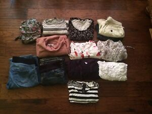 Brand name maternity clothes lot