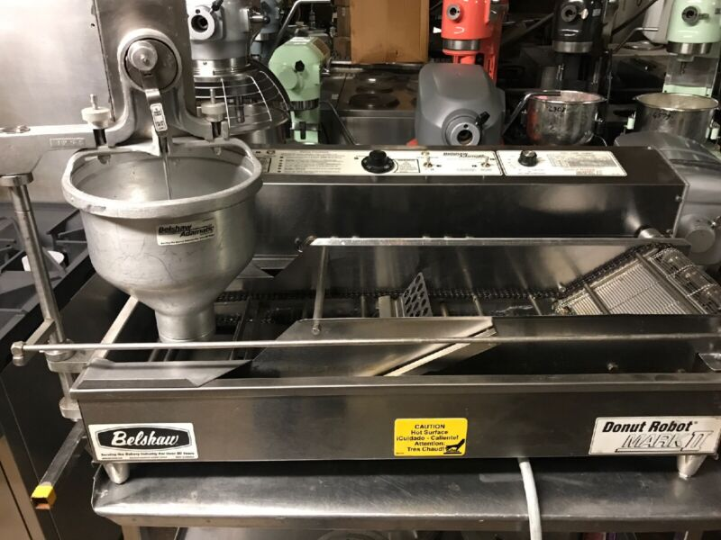 BELSHAW Donut Robot AUTOMATIC Doughnut Machine Mark II 2 Very Clean 3Phase