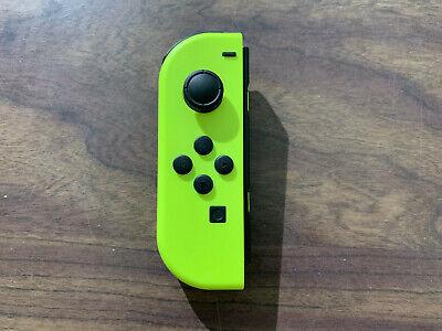 Nintendo Switch Neon Yellow LEFT Joy Con ---- LEFT Joy-Con ---