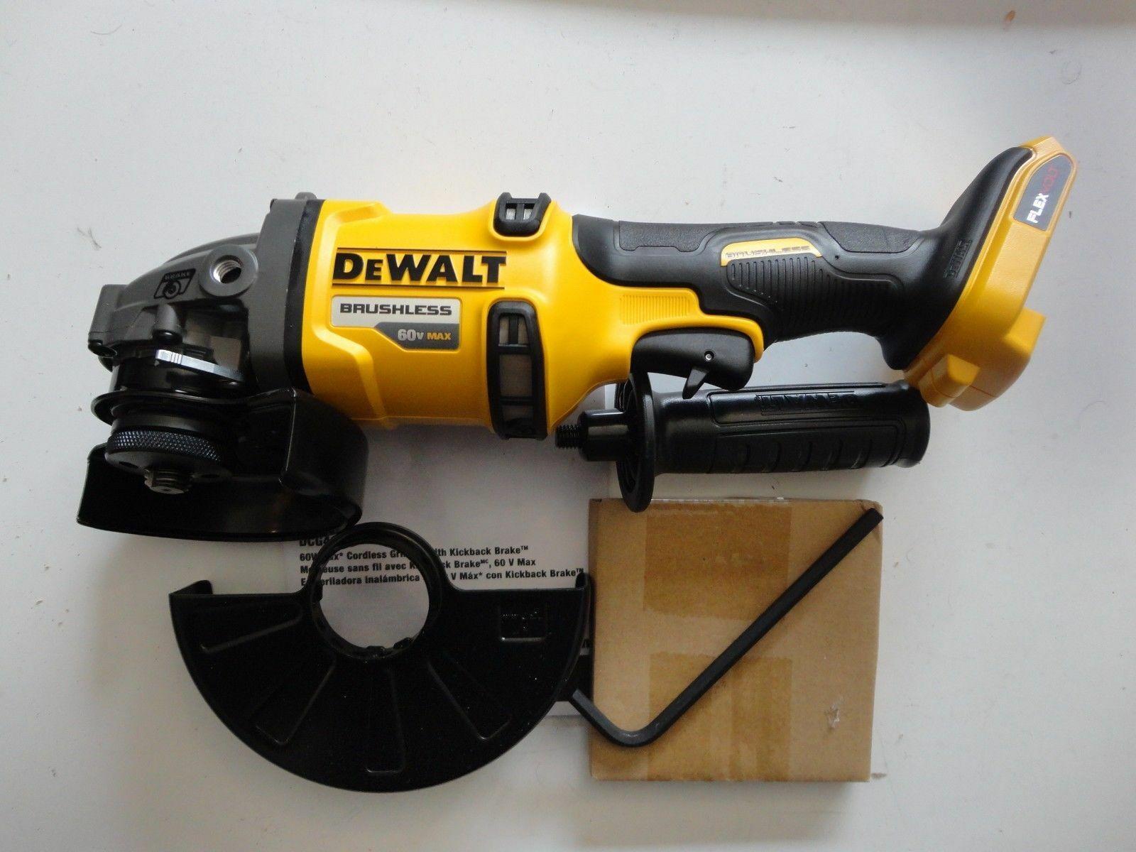 """DEWALT DCG414B 60V Volt max Flexvolt 4 1/2"""" - 6"""" Cut off Too"""