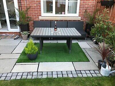 Artificial Grass Outdoor Rug / Roll - 200cm x 133cm