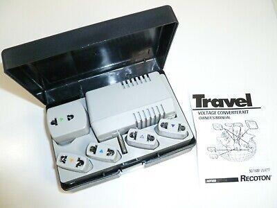 Deluxe Voltage Converter (Recoton ADF1650 Travel Deluxe Voltage Converter Kit)