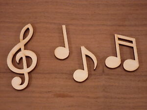 Wooden-choral-note-shapes-music-notes-wood-craft-Blank-plaque-and-card-making