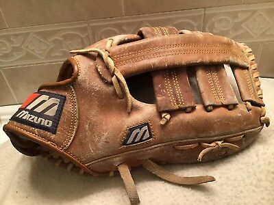 "caaf60198fe Mizuno MM1300 13"" Baseball Softball Glove Right Hand Throw"