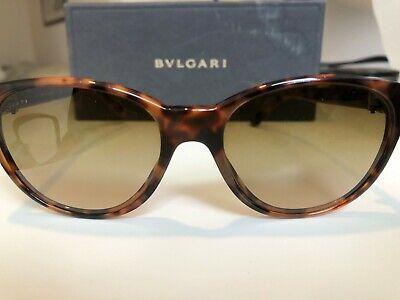 Bvlgari Women's Fashion Studded Sunglasses Brown Tinted Retails (Bvlgari Fashion)