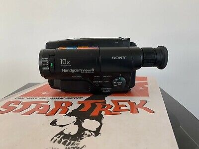 SONY CCD-TR340E ANALOGUE CAMCORDER ( 8mm Video 8 Playback SP/LP )