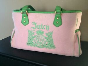 Like new Juicy Couture diaper bag / sac a couche