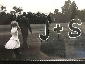 Wedding or event sign light up J+ S. large - $150