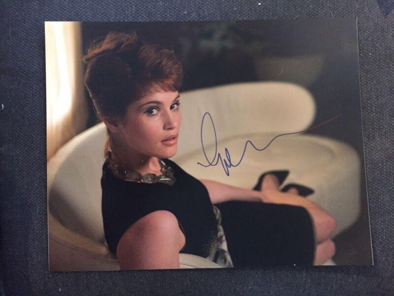 James Bond Quantum of Solace Gemma Arterton Autographed Signed 11x14 Photo COA