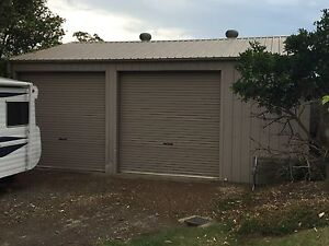 Colour Bond Shed- 2 1/2 Car space (7.0mx8.0m) Wilberforce Hawkesbury Area Preview