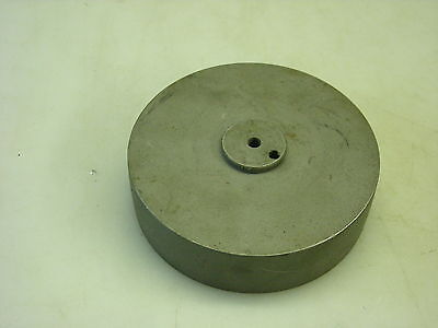 125mm Flat Belt Pulley For A Mikron 79 Gear Hobbing Machine