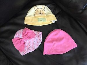 5 pieces of hat for girls 3-6 month. New