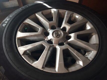 Toyota prado rims and tyres Cameron Park Lake Macquarie Area Preview