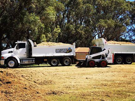 Hunton's earthworks bobcat and excavator services
