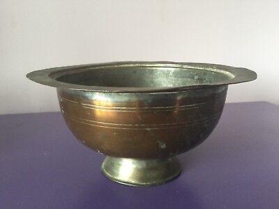 Vintage. Quality Copper  Planter Plant Pot Jardinierer. Islamic