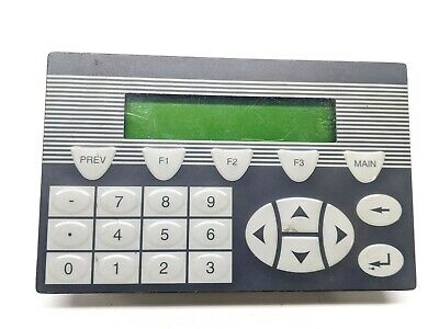 Nais Gk10 Operating Panel Hmi Ver. 1.00 Type 03710