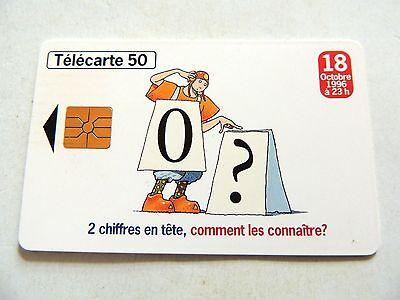Vintage 1996  Telecarte 50  France Telecom Phone Card