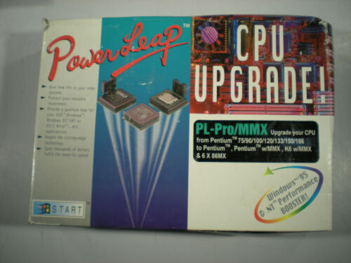 Vintage PowerLeap PL-ProMMX CPU Upgrade Kit in Box