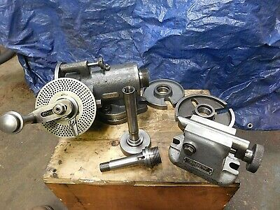 Van Norman 7.5 Dividing Head Waccess.shown Cleanedcycled Ready To Use