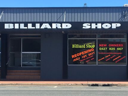 Billiard Shop Mackay - Reopening July 1st under new owners!