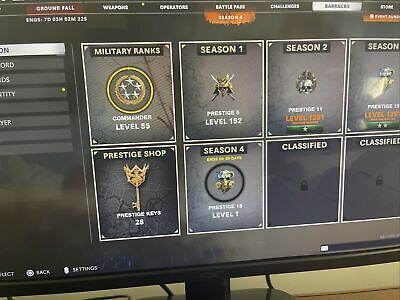 cold war account For Sale