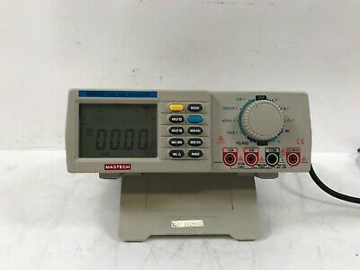 Mastech M9803r Digital Multimeter With Leads
