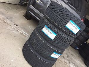 BRAND  new 225/40/18 triangle all season tires $440