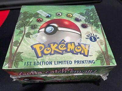 New Pokemon Jungle 1st Edition Booster Box 36 Packs Factory WOTC Sealed English