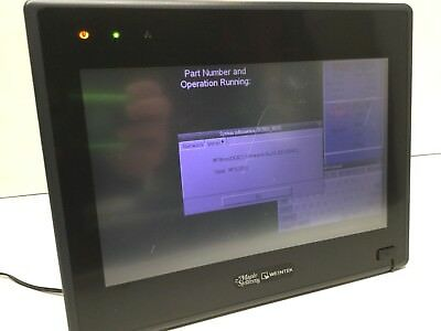 Maple Systems Hmi5100t 10 Operator Display Lcd Tft Touch Panel Interface 24vdc