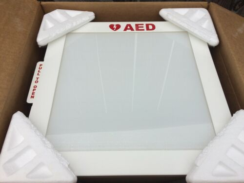 Universal AED Cabinet (with Alarm, wall mounted) -- Fits All AED Models