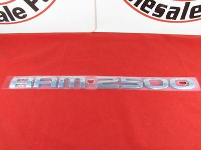 DODGE RAM Chrome RAM 2500 Nameplate NEW OEM MOPAR
