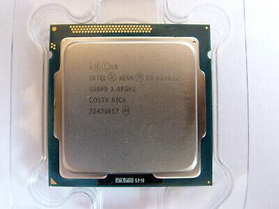 Usado, Intel Xeon E3 1240 V2 - 3,4 GHz Quad-Core 8MB; CPU; Prozessor; SR0P5 LGA1155  segunda mano  Embacar hacia Spain