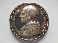Vaticano Medaglia Argento Leone Xiii Anno Xxiv -  - ebay.it