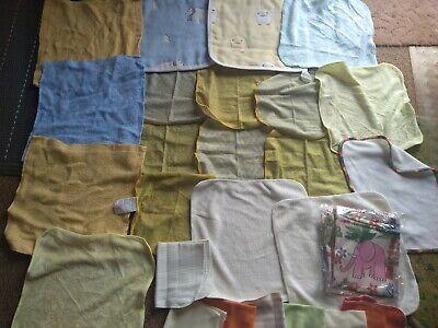 Wet bag & huge bundle x 25 organic reusable baby, organic bamboo, organic cotton