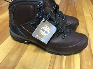 TIMBERLAND MEN's REAL SOFT LEATHER WATERPROOF BOOTS (BRAND NEW)