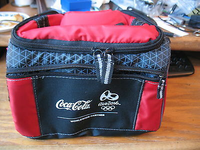 Coca Cola (Coke) 2016 Rio Olympics Cooler Bag NWOT Red and Black