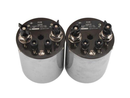 P310-P321-P331 Coil, Resistance standard resistor