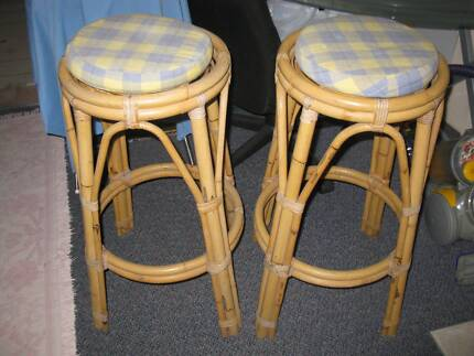 Stools Made of Cane