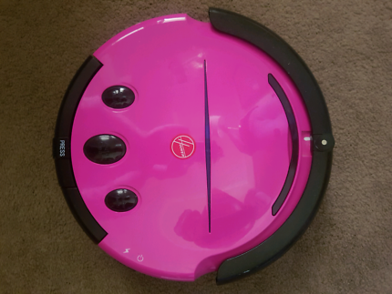 pink Hoover automatic vacuum cleaner