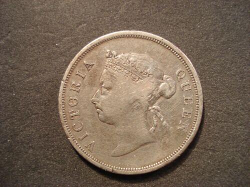 1898 Straits Settlements 50 Cents