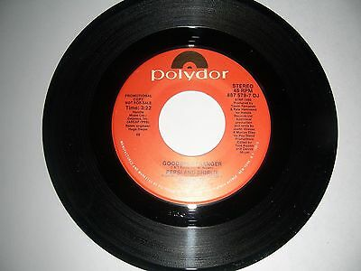PROMO House 45 Pepsi & Shirlie - Goodbye Stranger Polydor NM (Goodbye House)