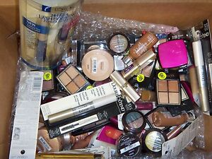 100 PC Wholesale Lot of Maybelline L'Oreal and Covergirl Cosmetics Makeup loreal