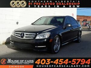 2011 Mercedes-Benz C-Class C350 4MATIC AMG Package w/ Navigation