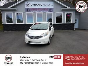 2014 Nissan Versa Note 1.6 SV LOW KMS! CLEAN! OWN FOR $99 B/W...