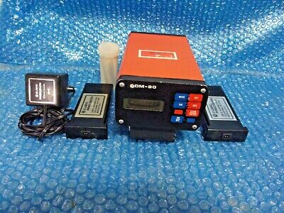 Cubic Precision Dm-80 Distance Meter For Surveying Untested Look