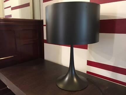 Original flos spun t2 table lamp designed by sebastian wrong